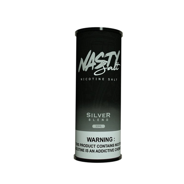 NASTY SALTS TOBACCO SILVER BLEND - VapeStuff NZ