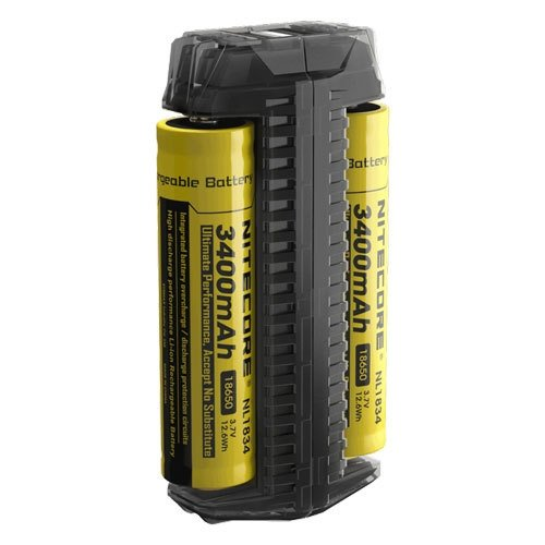 Nitecore - F2 PORTABLE BATTERY CHARGER - VapeStuff NZ