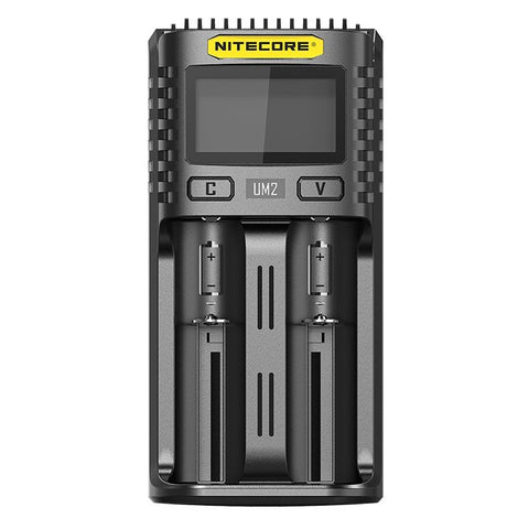 Nitecore - UM2 2 BAY USB BATTERY CHARGER - VapeStuff NZ