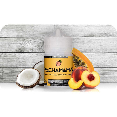 Pachamama -Peach Papaya Coconut Cream - VapeStuff NZ