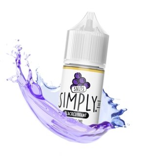 SIMPLY SALTS - BLACKCURRANT - VapeStuff NZ