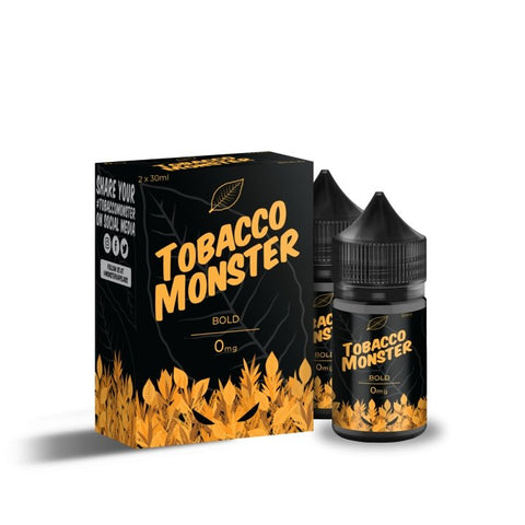 TOBACCO MONSTER SALT - BOLD - VapeStuff NZ