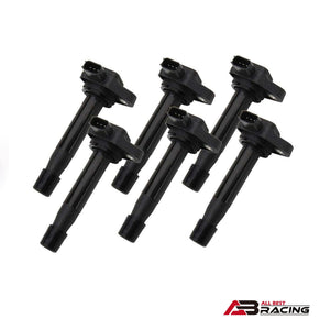 Ignition Coils Pack of 6 for Honda Odyssey Accord Acura TL CL RL 3.5L V6 UF242 - A.B.Racing Suspension Parts