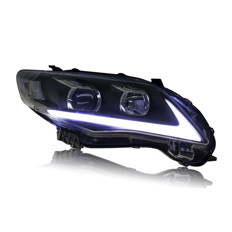 Headlight For Toyota Corolla 2011-2013 - A.B.Racing Suspension Parts