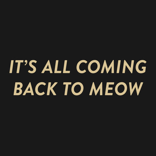 It's all coming back to meow - T-Shirt