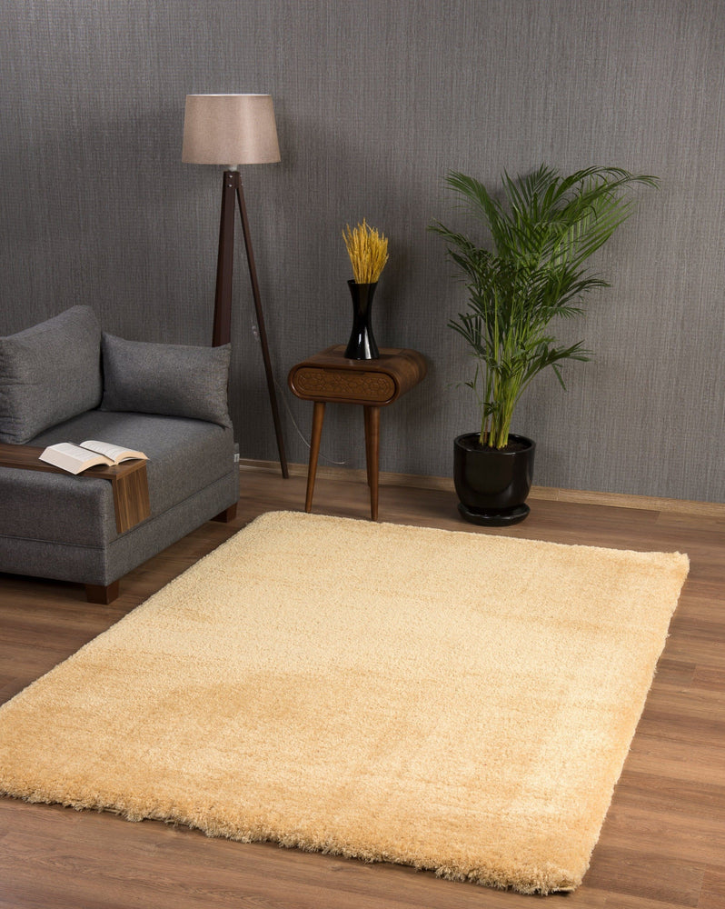 Premium Soft Shaggy | Gold Luxury Shaggy Rug The Rug Way
