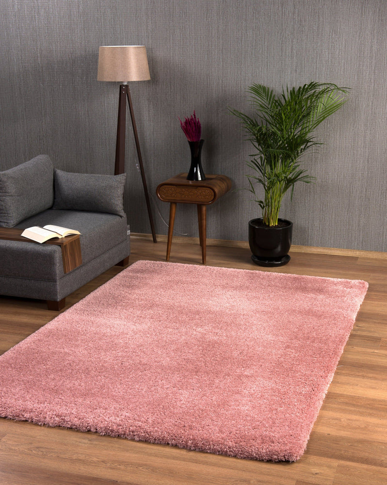 Premium Soft Shaggy | Prada Coral Luxury Shaggy Rug The Rug Way