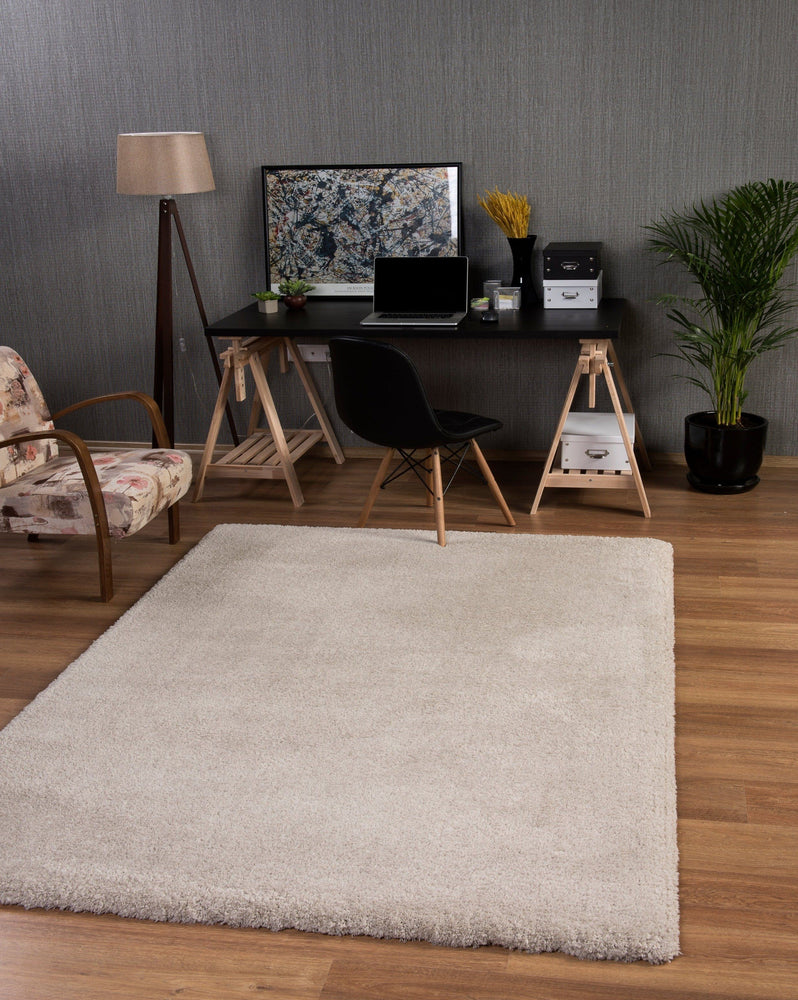 Premium Soft Shaggy | Taupe Luxury Shaggy Rug The Rug Way