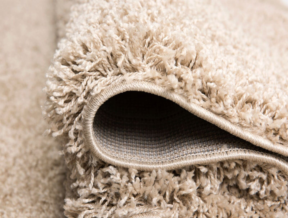 Shaggy Rug | Ivory / Cream Luxury Shaggy Rug The Rug Way