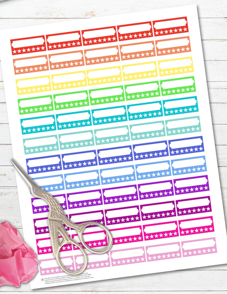 Printable Habit Trackers 7 Day Planner Stickers For Happy Planner The Paper Hen