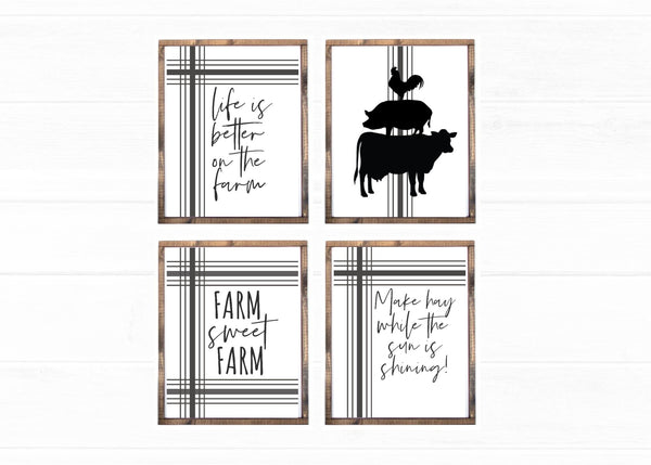 Farmhouse Wall Art Printables
