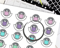 Fitness Workout Tracker Printable Stickers For The Happy Planner
