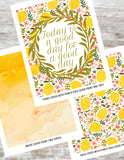 Today is a Good Day for a Good Day Printable DIY Happy Planner Cover