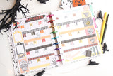 sugar skull planner stickers