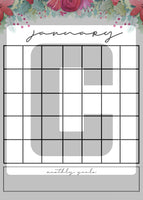 printable christmas holiday planner calendar