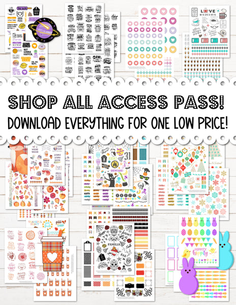 All Access Shop Pass!  Download Everything for one Low Price!