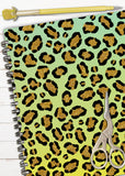 St. Patrick's Day Leopard Print Custom DIY Planner Cover or Digital Paper