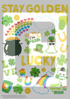 st patricks day planner stickers