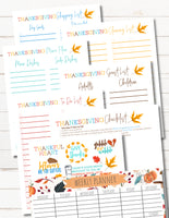 Thanksgiving 9 Page Turkey Success Workbook