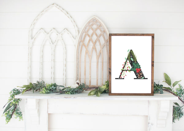 christmas farmhouse printables