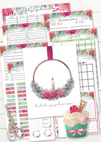 printable christmas holiday planner or binder for an organized holiday