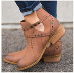 Newly Style Spring Cool Zipper Ankle Boots