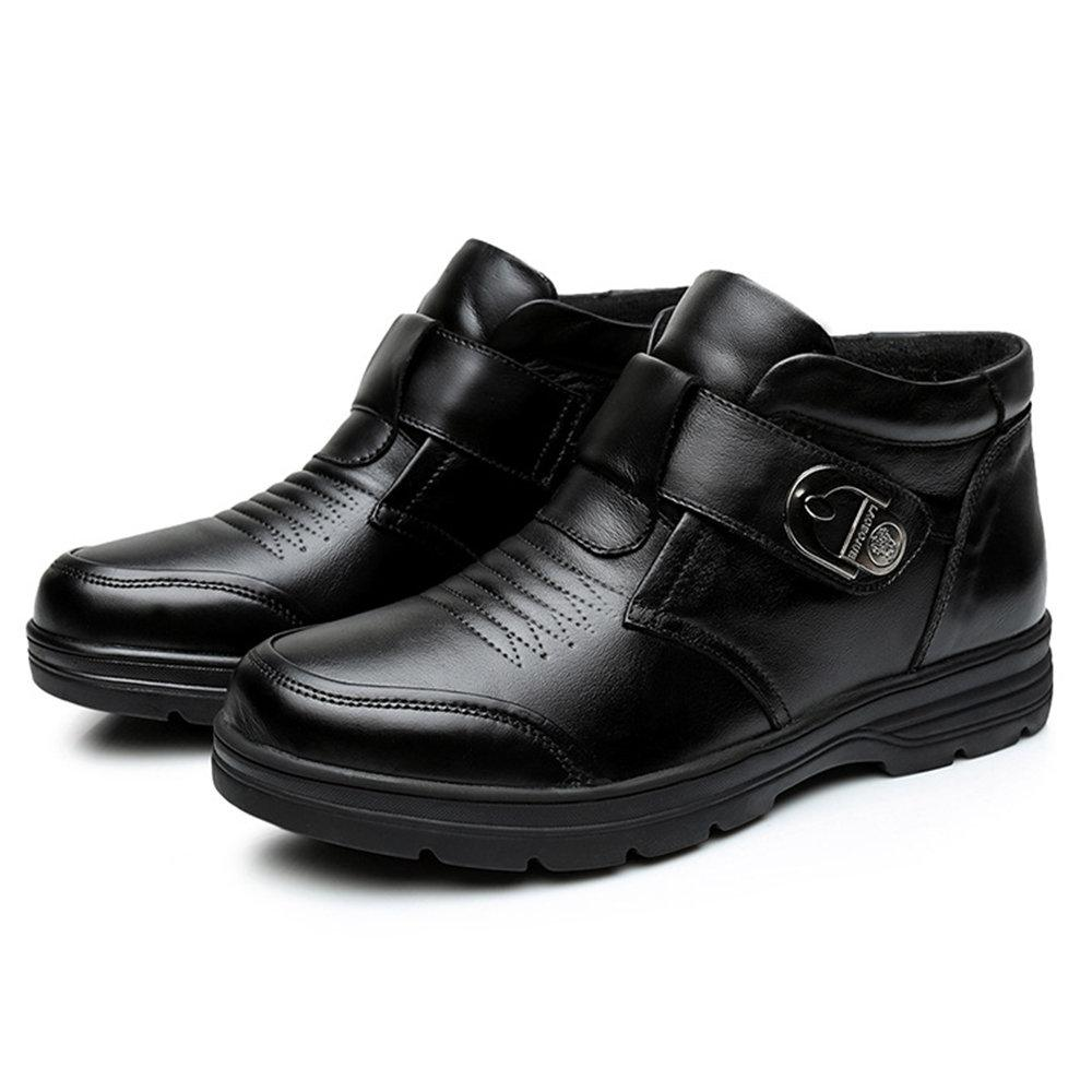 Men  Slip Resistant Hook Loop Casual Boots