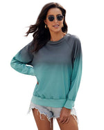 Plus Size Casual Long Sleeve  Tops Hoodies