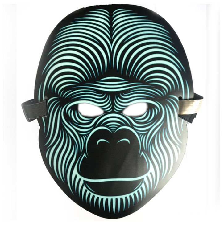 Sound Reactive Mask(Halloween)