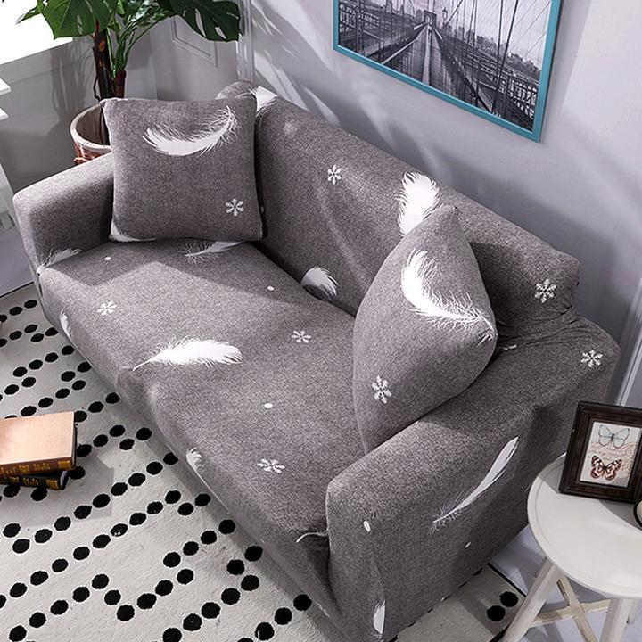 Outstanding High Quality Stretchable Elastic Sofa Cover Theyellowbook Wood Chair Design Ideas Theyellowbookinfo