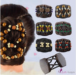 2Pcs Magic Stretch Hair Comb