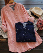 V Neck Women Casual Dresses Shift Daily Shirt Dresses