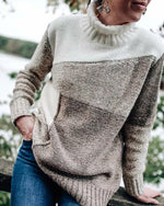 Loose Casual Women's Plus Size Sweaters