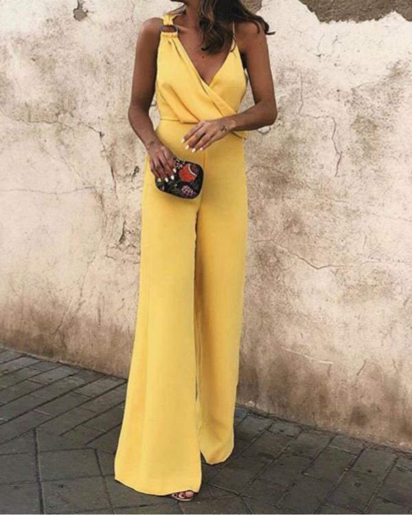 Women Sexy High Waist Jumpsuits