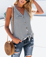 Casual Solid Women Sleeveless Vest Tops