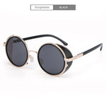 Punk Unisex Polarized Fashion Vintage Pilot Sun Glasses With Box