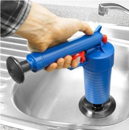 Household High Pressure Sink Pipe Cleaner