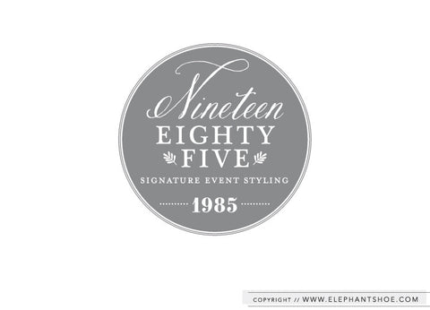 Signature event styling and floral design company // Logo Design