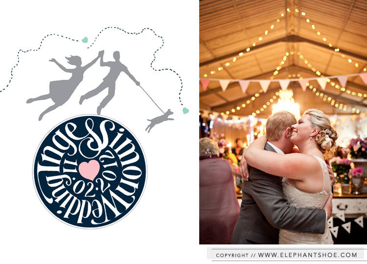 Wedding logo // Photo by: Nikki M Photography