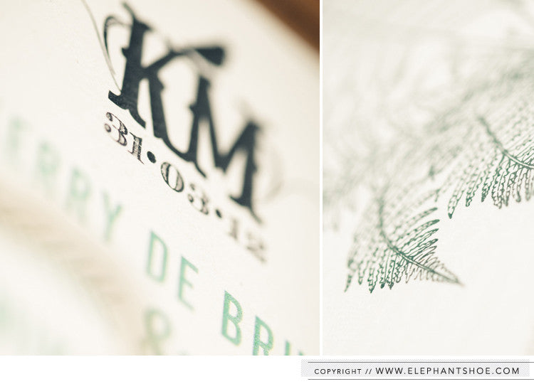 Monogram // Photo by: Blackframe Photography