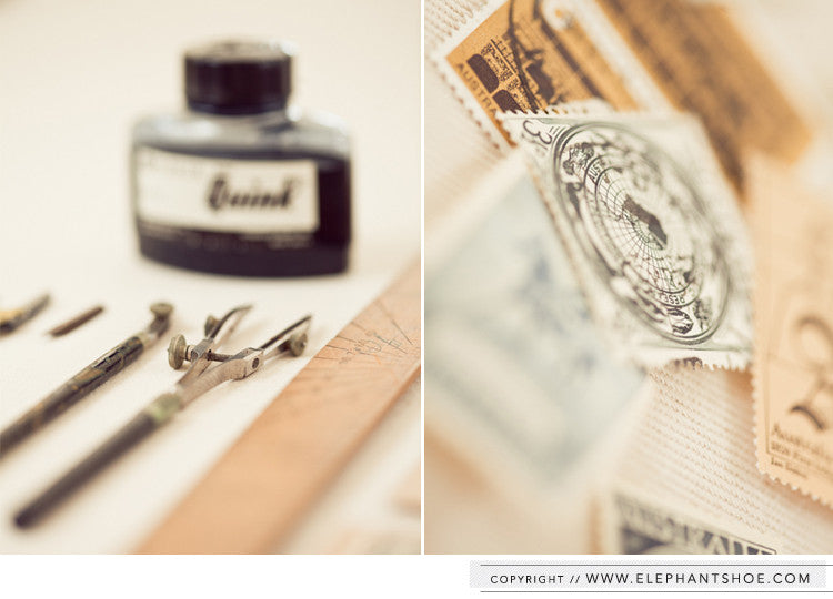 Stamps // Photo by: Blackframe Photography