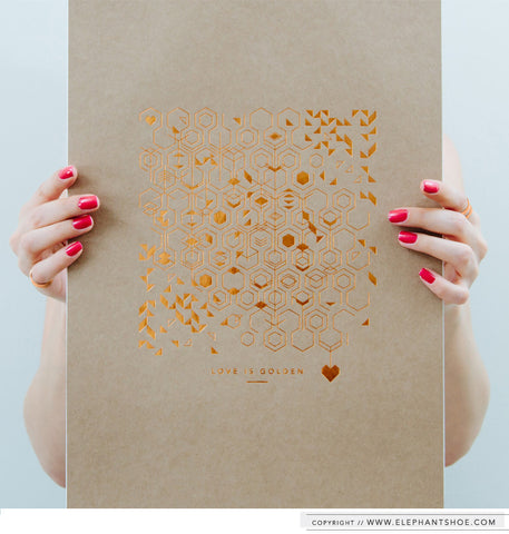 DESIGNS ON KRAFT