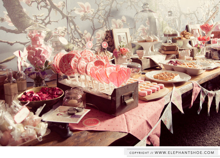 Neo & Ayanda Dessert and Candy Table // Styling : Elephantshoe // Photos by: Blackframe Photography