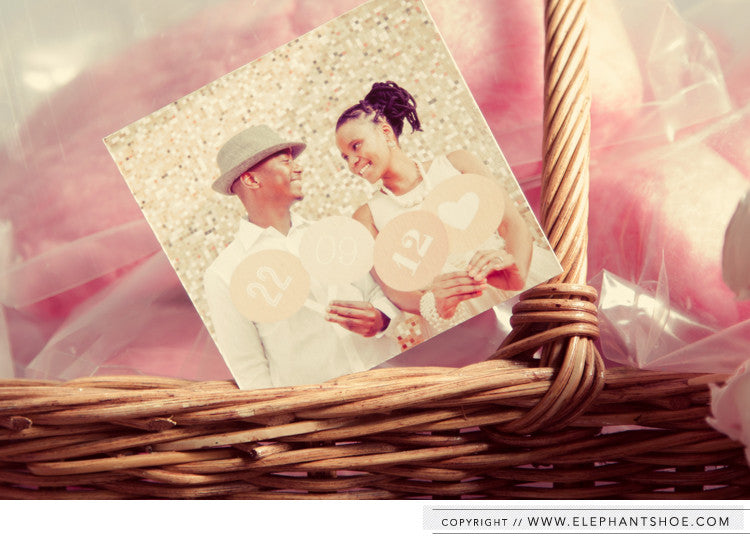 Candy floss basket // Photos by: Blackframe Photography