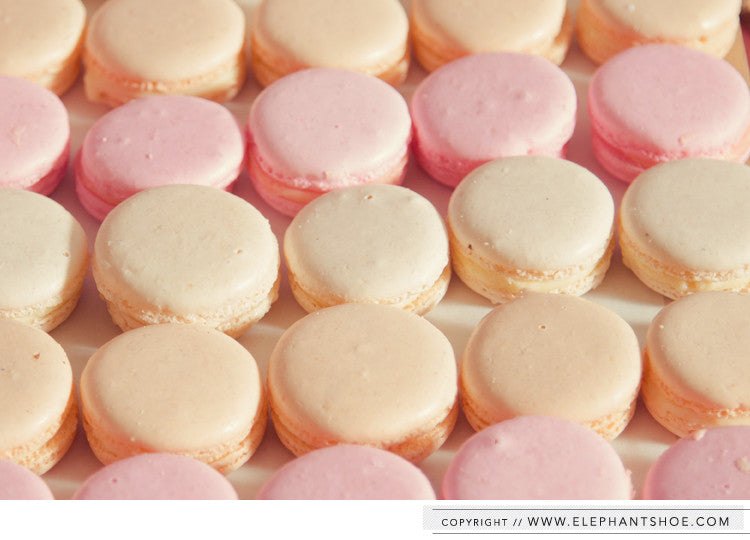 Yummy macarons // Photos by: Blackframe Photography