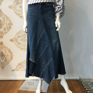 Frocked Up Denim Maxi - frock - frock-on-penn-llc - Skirts