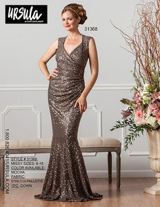 Ursula of Switzerland Sequin Gown on SALE