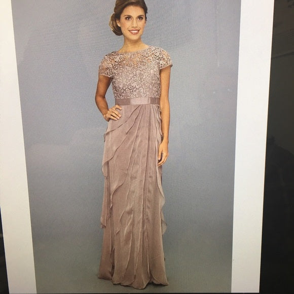 Social Occasions Gown by Adrianna Papell - Adrianna Papell - frock-on-penn-llc -