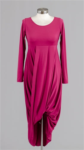 Ducci Long Sleeve Dress - Ducci - frock-on-penn-llc - Dress