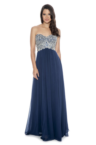 Decode Strapless Gown for RENT